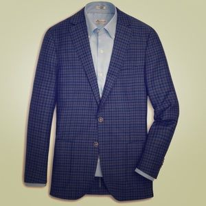 Crown Cool Gingham Soft Jacket
